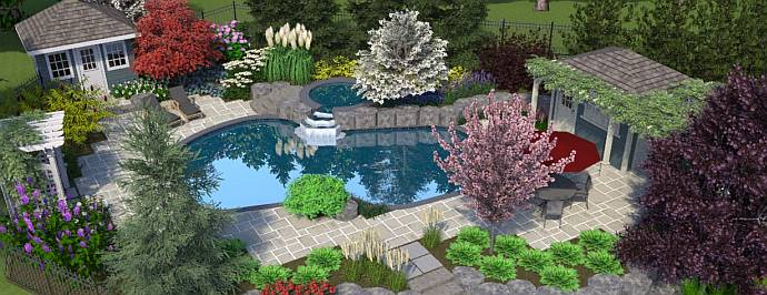 landscape waterford ontario gb landscaping water gardens